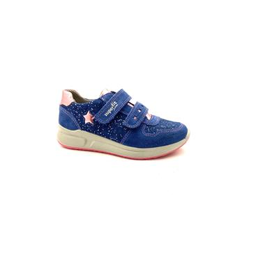 SUPERFIT GIRLS STAR 2 VELCRO TRAINER - BLUE ROSE