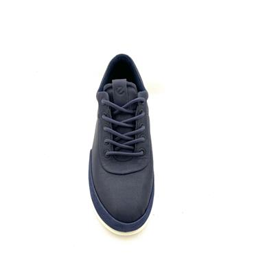 ECCO WOMENS GORETEX COOL LACE TRAINER - NAVY