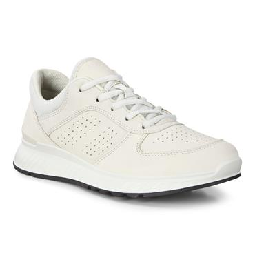 ECCO WOMENS EXOSTRIDE LACE TRAINER - SHADOW WHITE