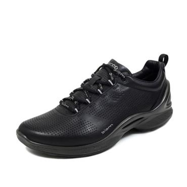 ECCO WOMENS BIOM LACE TRAINER - BLACK