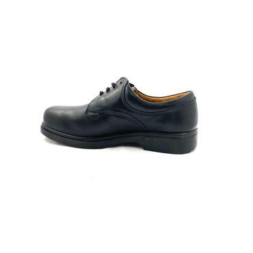 EASY B MENS 6V SHANNON LACE SHOE - BLACK