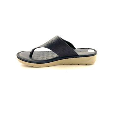NINE TO FIVE WOMEN LOW WDG TOE POST MULE - NAVY