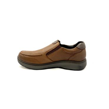 G COMFORT MENS WATERPROOF SLIP ON SHOE - BROWN