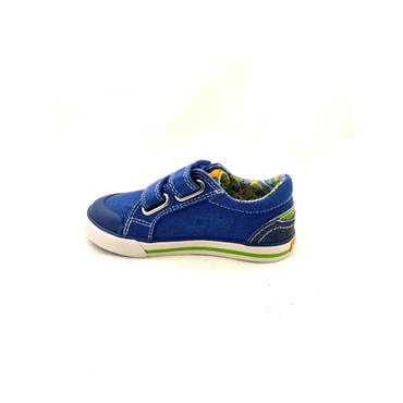 PABLOSKY BOYS 2 VEL STRAP SHOE - BLUE