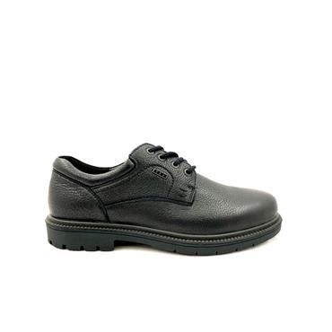 GRUNWALD MENS WATERPROOF LACE SHOE - BLACK