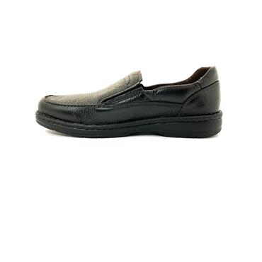 ZEN MENS COMFORT SLIP ON SHOE - BLACK