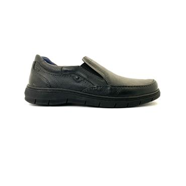 ZEN AIR MENS COMFORT SLIP ON SHOE - BLACK