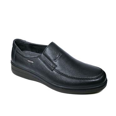 G COMFORT MENS WATERPROOF SLIP ON SHOE - BLACK