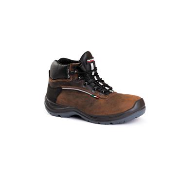GIASCO MENS S3 SAFETY LACE BOOT - BROWN