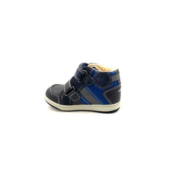 GEOX BOYS 2 VEL STRAP ANKLE BOOT - NAVY BLUE