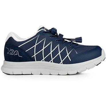 OPTIMA MENS ORTHOTIC LACE TRAINER - NAVY