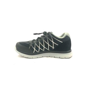 OPTIMA WOMENS ORTHOTIC LACE TRAINER - BLACK