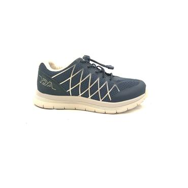 OPTIMA WOMENS ORTHOTIC LACE TRAINER - NAVY