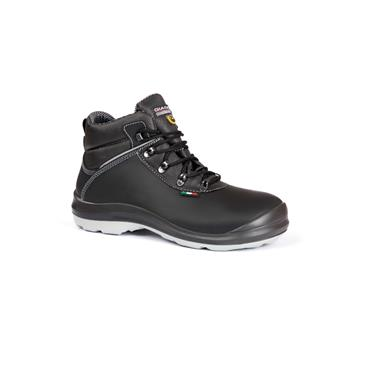 GIASCO MENS S3 WIDE FIT SAFETY LACE BOOT - BLACK