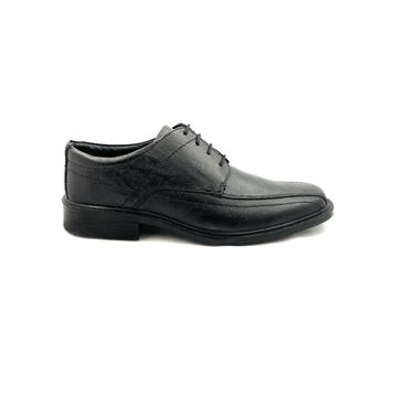 CATESBY MENS STITCH LACE SHOE - BLACK