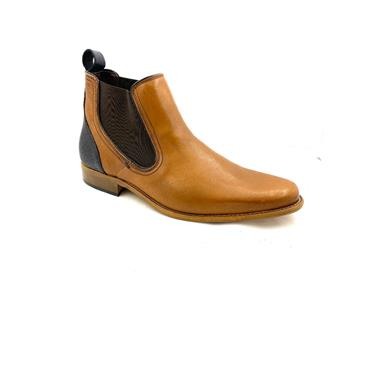 ESCAPE GTS GUSSET SLIP ON BOOT - CARAMEL
