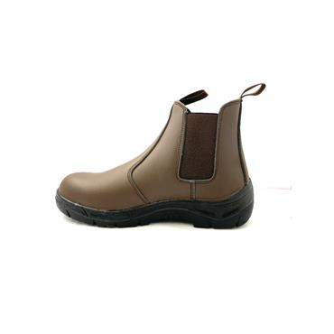 RGP GTS STEEL TOE CAP DEALER BOOT - BROWN
