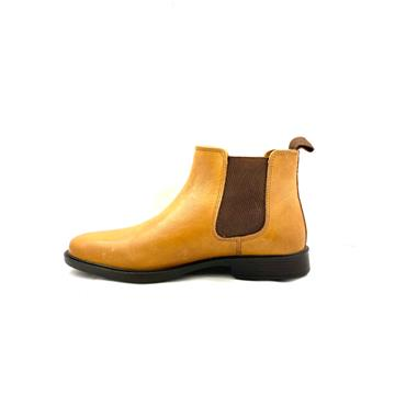 REDTAPE GTS GUSSET SLIP ON BOOT - TAN