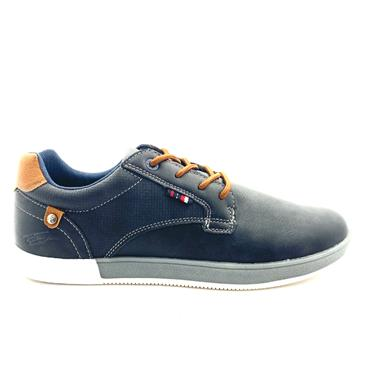 TOMMY BOWE MENS LACE CASUAL SHOE - NAVY