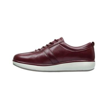 JOYA WOMENS LACE SHOE - DARK RED
