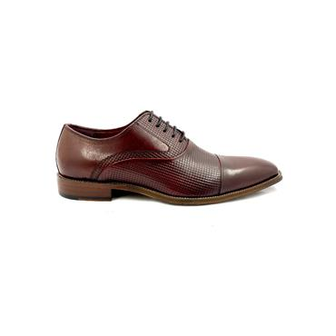 ESCAPE GTS DRESS T/CAP TIE SHOE - BORDEAUX