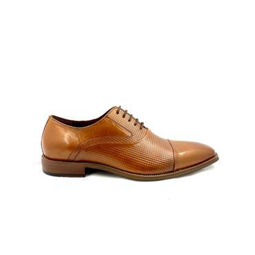 ESCAPE GTS DRESS T/CAP TIE SHOE - BRANDY
