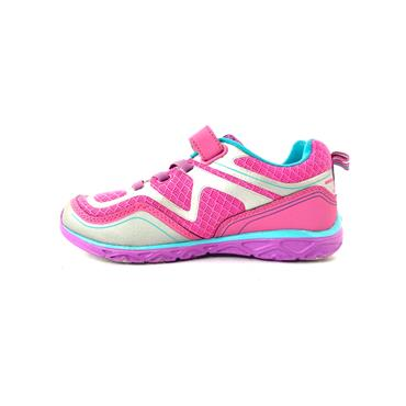 PEDIPED VEL LACE RUNNER - PINK SILVER