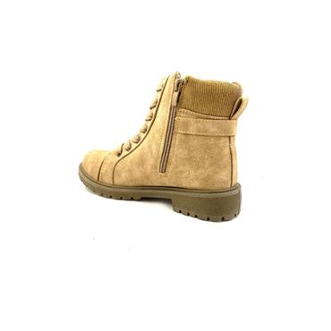 GJK LDS STRAP JUMPER TOP ZIP TIE BOOT - BEIGE