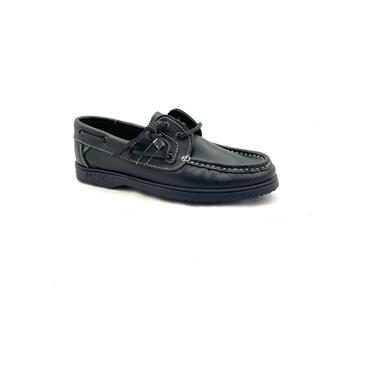 SUSST DECK SHOE - NAVY NAVY SOLE
