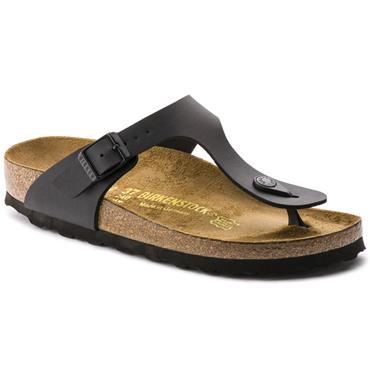 BIRKENSTOCK WOMENS TOE POST SANDAL - BLACK