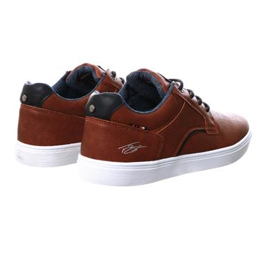 TOMMY BOWE MENS LACE CASUAL SHOE - CAMEL