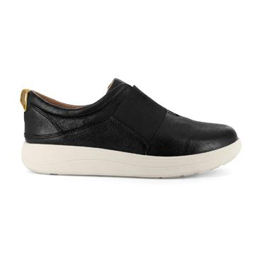 STRIVE WOMENS SLIP ON SHOE - BLACK