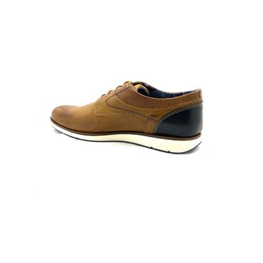 OLIVER FUREY MENS CASUAL LACE SHOE - TAN