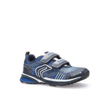 GEOX BOYS 2 STRAP VEL RUNNER - NAVY BLUE
