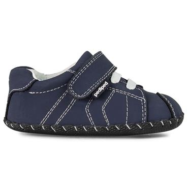 PEDIPED VEL LACE SHOE - NAVY