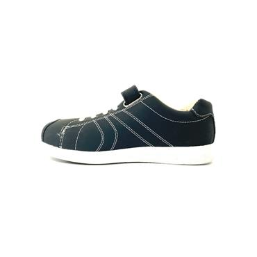PEDIPED BOYS VEL LACE SHOE - NAVY
