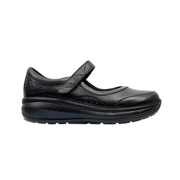 JOYA LDS ORTHOLITE VEL STRAP SHOE - BLACK