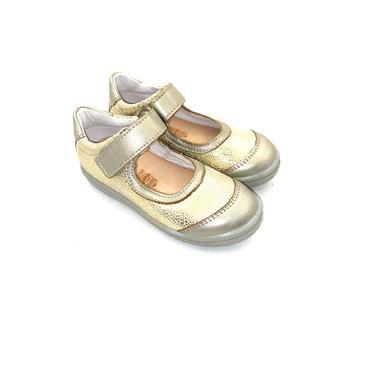 RICOSTA VEL STRAP SHOE - GOLD