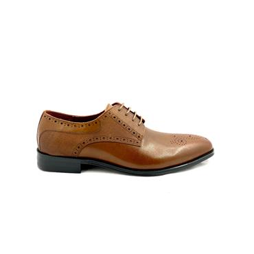 ESCAPE GTS BROGUE TIE SHOE - MAHOGANY