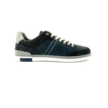 TOMMY BOWE MENS LACE CASUAL SHOE - CHARCOAL NAVY