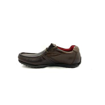 REDTAPE MENS MOCC LACE SHOE - BROWN