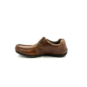 REDTAPE MENS MOCC LACE SHOE - TAN