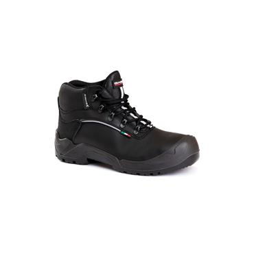 GIASCO MENS S3 SAFETY LACE BOOT - BLACK
