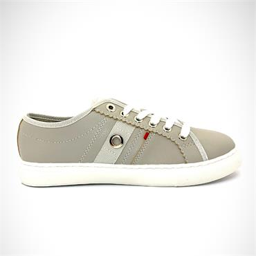TOMMY BOWE WOMENS LACE TRAINER - GREY