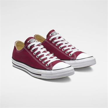 CONVERSE MENS ALL STAR OX LACE TRAINER - MAROON