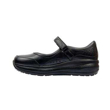 JOYA ORTHOLITE VEL STRAP SHOE - BLACK