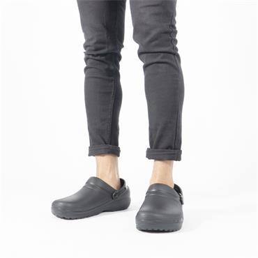CROCS NON SLIP CLOG - BLACK