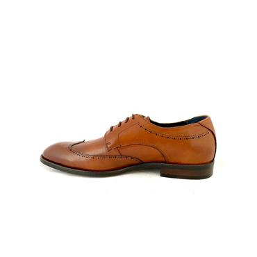 MORGAN MENS DRESS LACE SHOE - DARK TAN