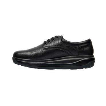 JOYA MENS ORTHOLITE LACE SHOE - BLACK