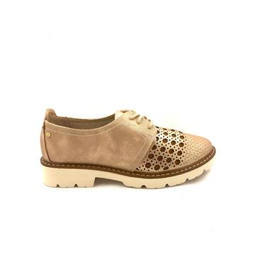 ZANNI WOMENS SUMMER LACE SHOE - ROSE GOLD MULTI